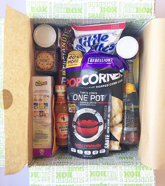 Degustabox Review (Best Value Food Box) – Sept 2016