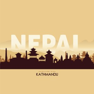 kthmandu Nepal Illustaration By Subarna Bhandari