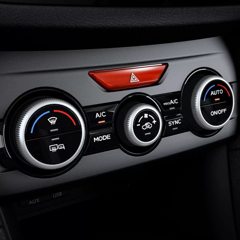 Subaru Dual-Zone Automatic Air-Conditioning System