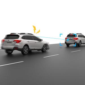 Subaru EyeSight Pre-Collision Braking