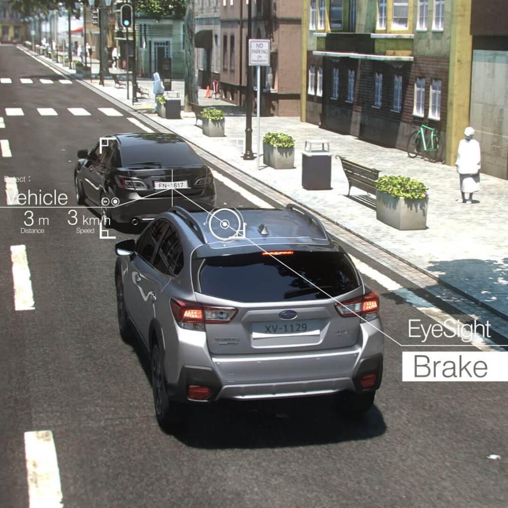 Subaru EyeSight Pre-Collision Braking