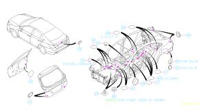 Firewall access, Genuine Subaru body plugs and confusion  Subaru Outback  Subaru Outback Forums