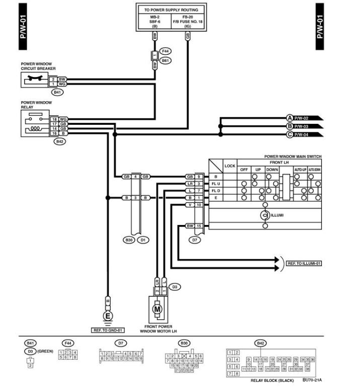 subaru window wiring diagram  2007 hayabusa wiring diagram