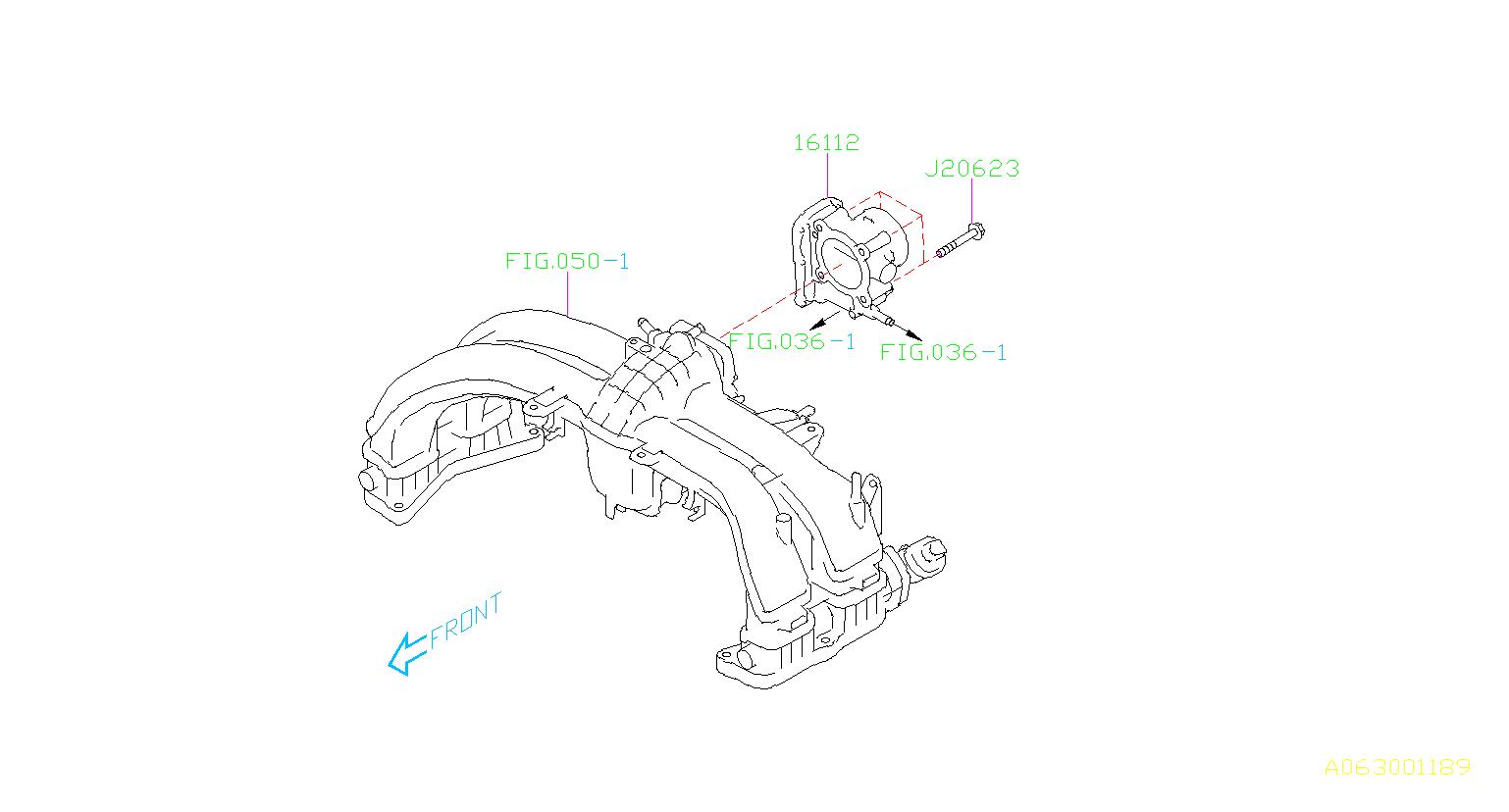 subaru legacy bolt belt timing cover