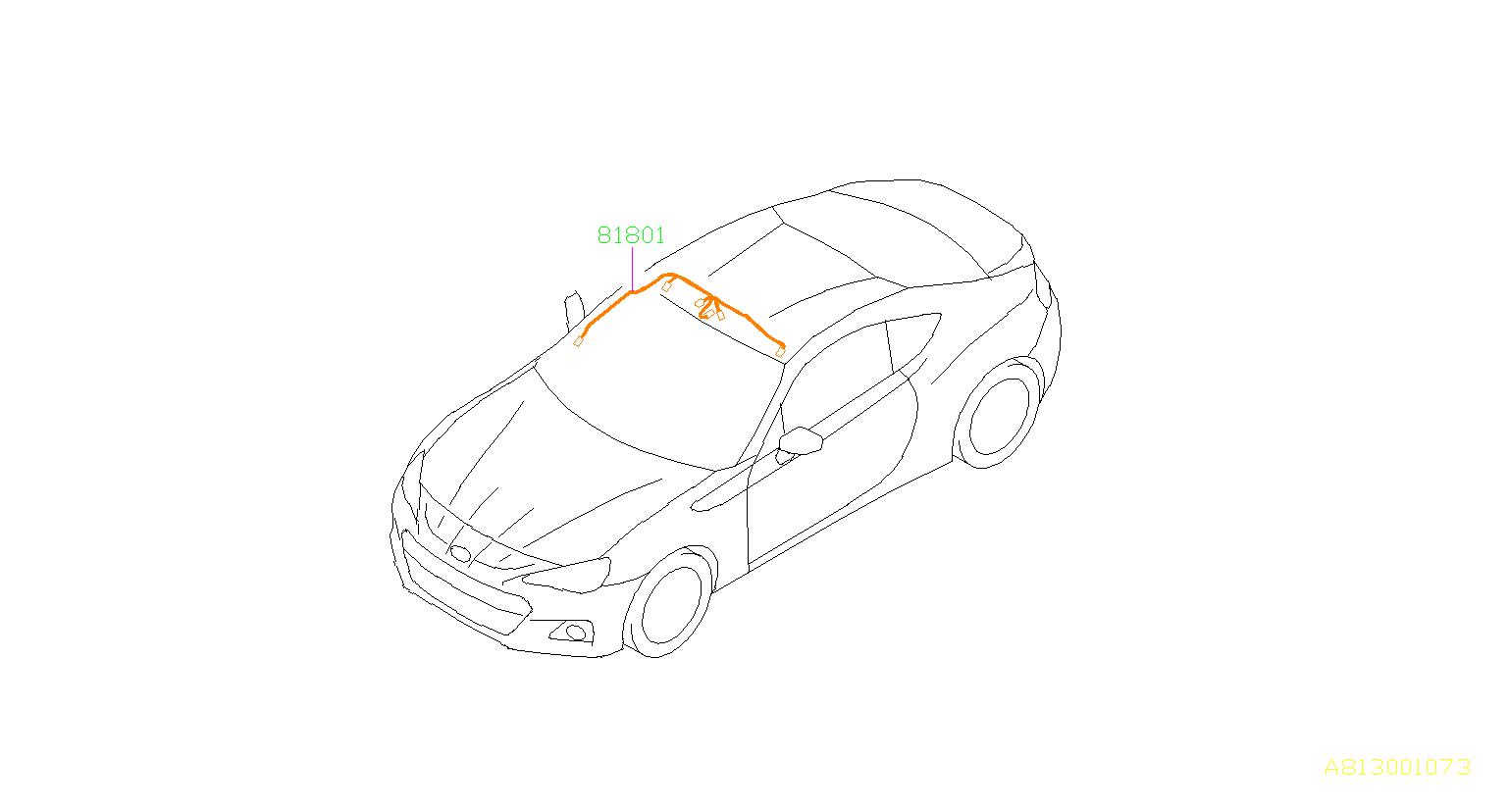 Subaru Brz Cord Roof Electrical