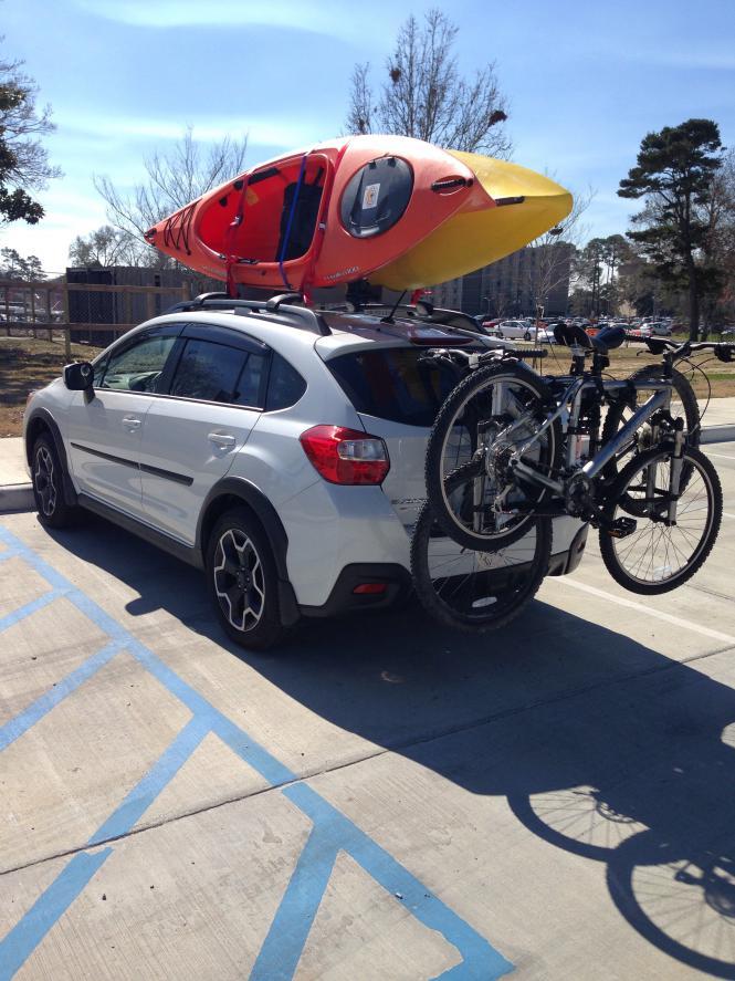 bike racks hitch racks or roof racks