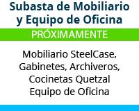 Subasta de Mobiliario - Corporativo en Polanco