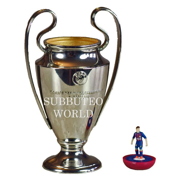 1016. THE UEFA CHAMPIONS LEAGUE TROPHY. 100mm High ...
