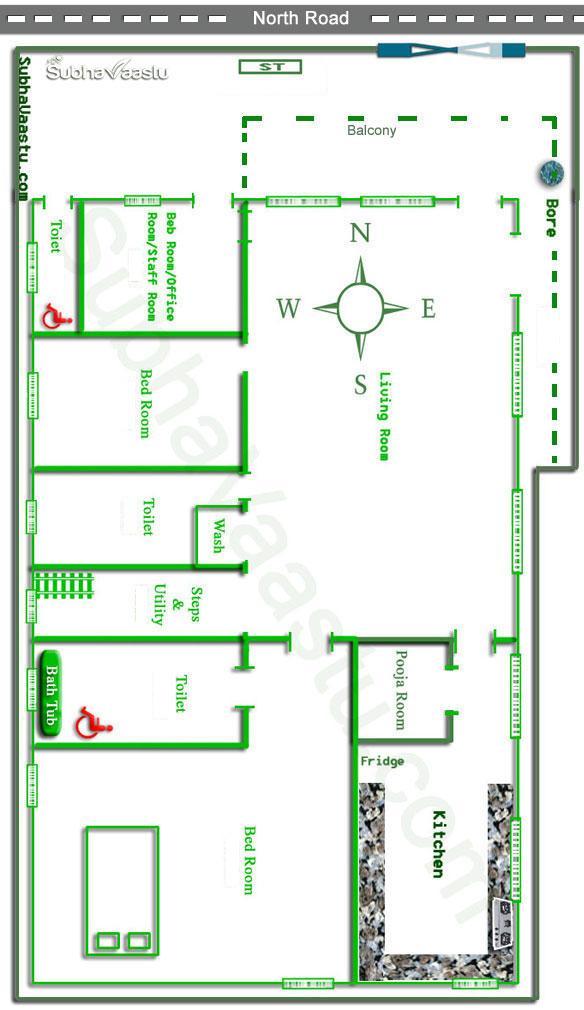 Single Bedroom Plans As Per Vastu Amazing House Plans