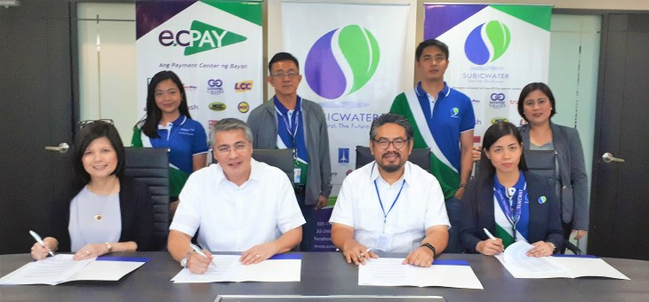 SUBICWATER expands payment options through ECPay