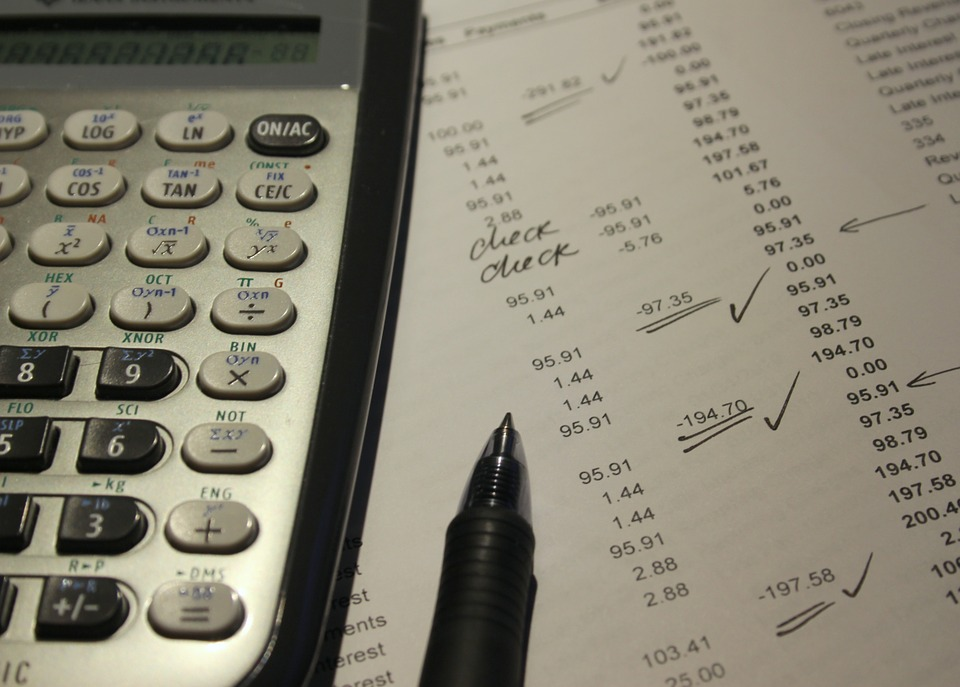 Image facture calculatrice