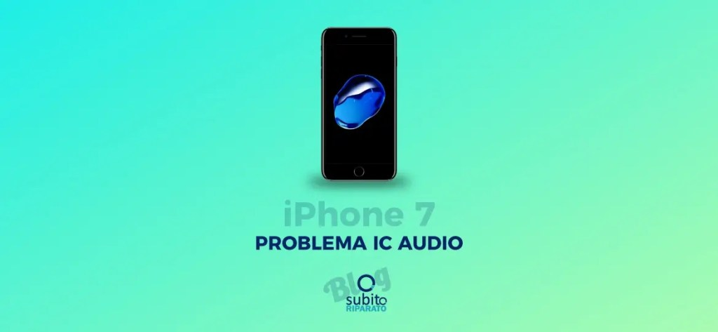 Iphone7 Problema IC Audio