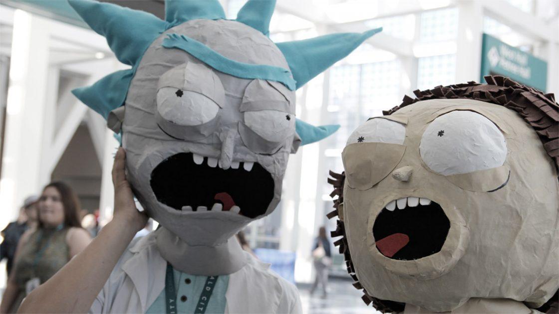 Rick And Morty Rezi by Knall