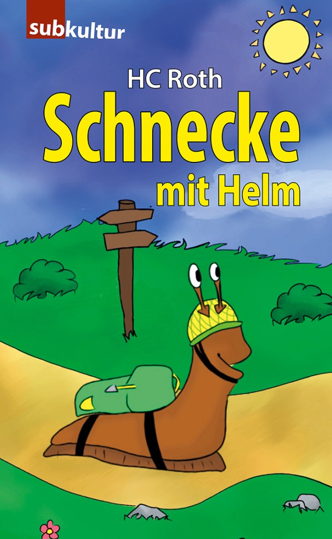 """HC ROTH: """"Schnecke mit Helm"""" - subkultur"""