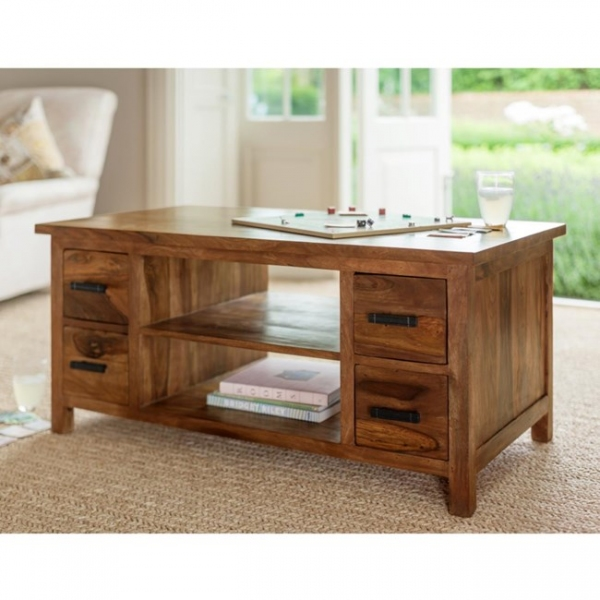 Coffee Table With Storage Sublime Exports