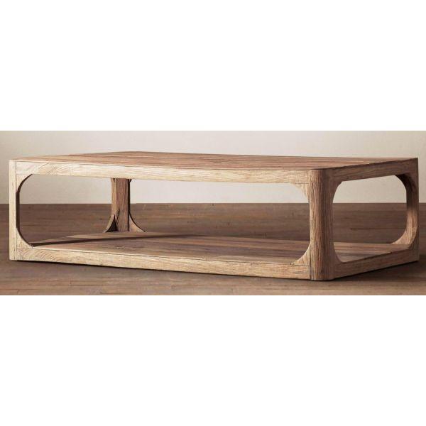 SHEESHAM WOOD CENTER TABLE