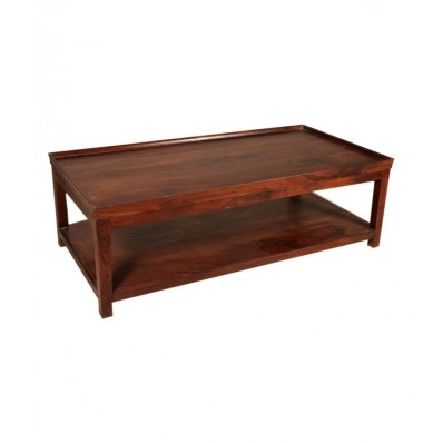 WOOD LOW HEIGHT COFFEE TABLE