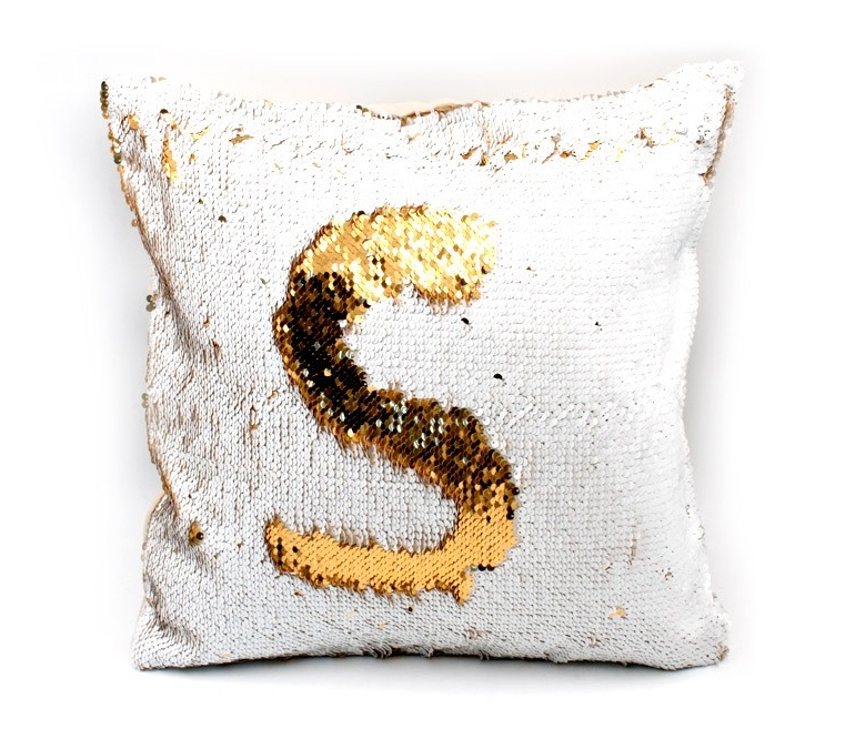 reversible sequin cushion covers for