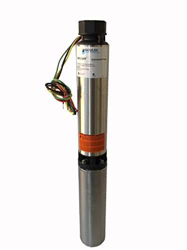 Goulds 10SB05412CL Submersible Water Well Pump, 10 GPM, ½ HP, 7 Stages, 3 Wire, 230 V Control Box is REQUIRED but NOT INCLUDED.