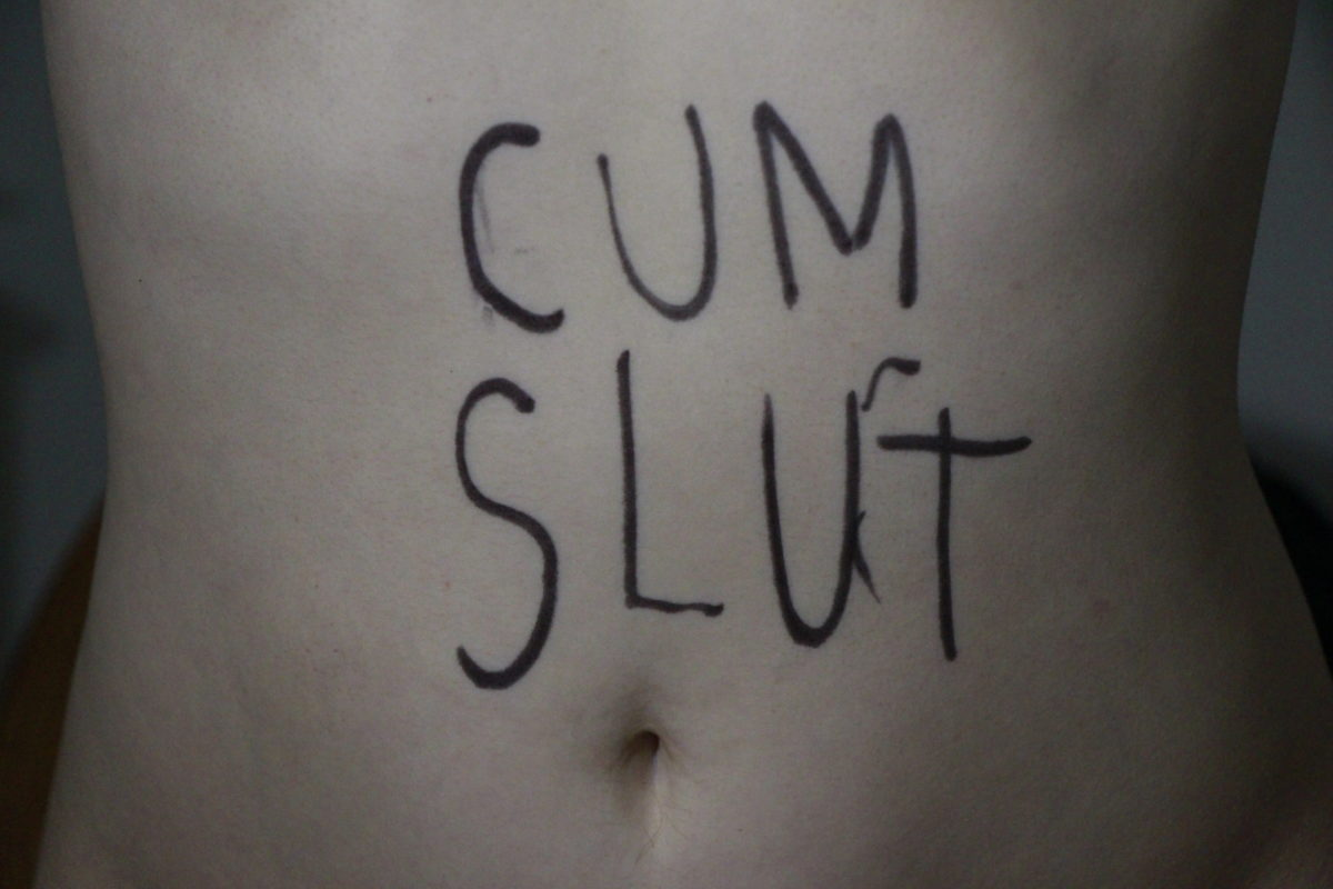 Bdsm body writing