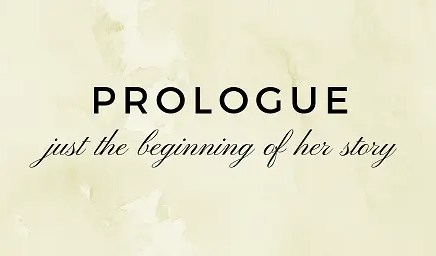 Card reading Prologue - just the beginning of her story