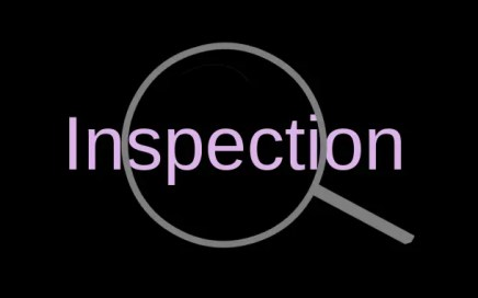 Objectification - inspection card