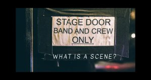 So tell me, what is a scene?