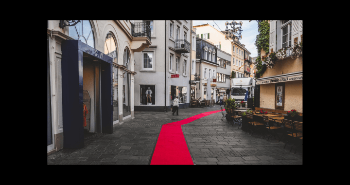 Thoughts on celebrity - red carpet through town