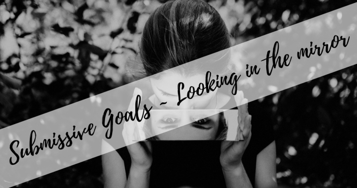 Submissive Goals - looking in the mirror
