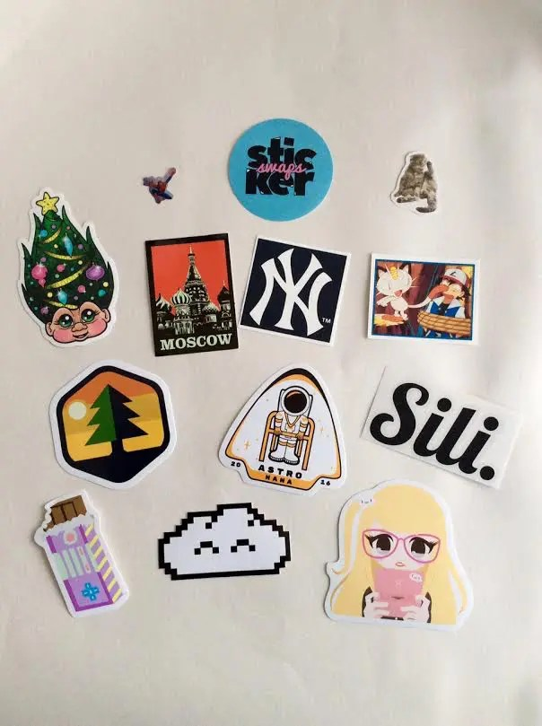 Sticker Swaps Subscription Box – December 2016 Review