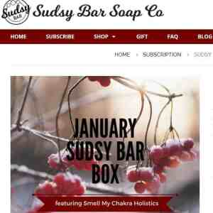 Sudsy Bar Soap Box