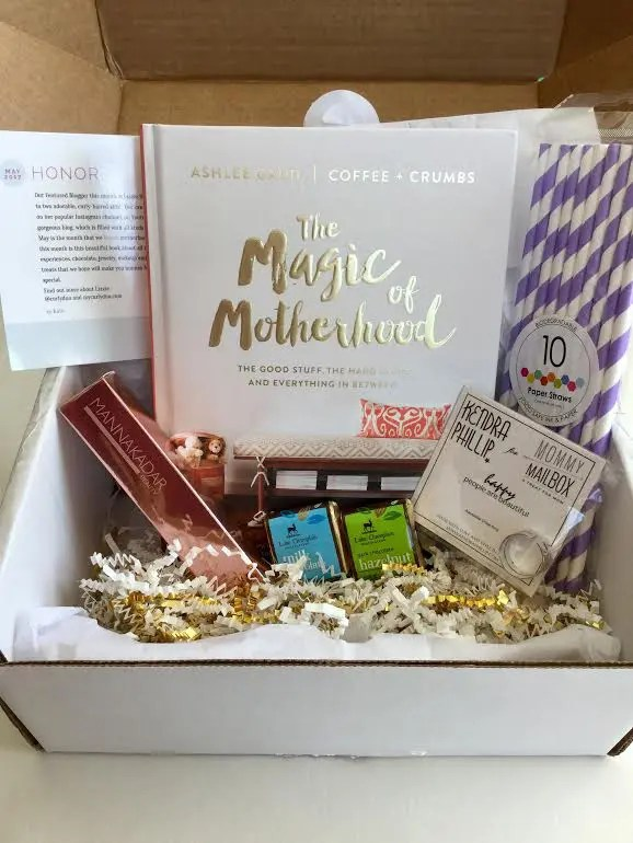 Mommy Mailbox Subscription Box – May 2017 Review