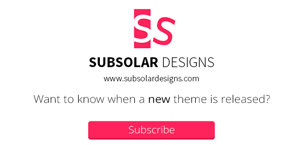 Subscription to Subsolar Designs