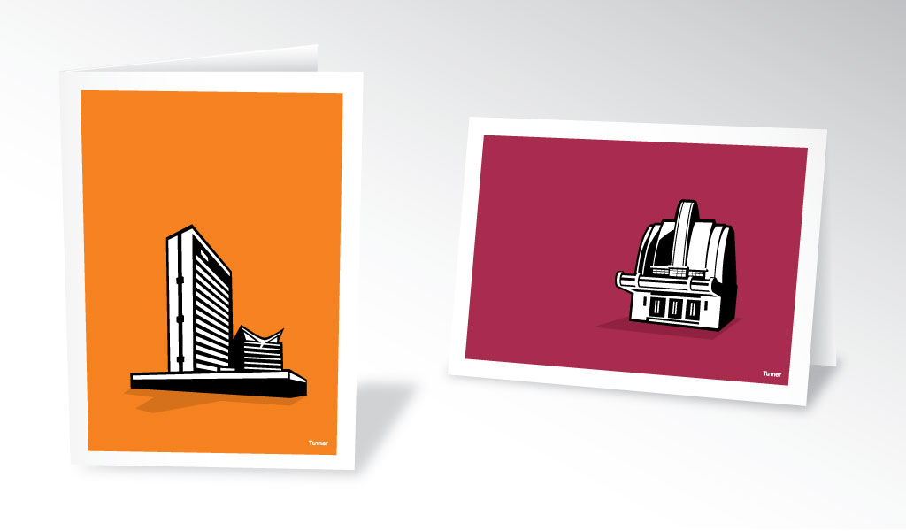 Manchester Modernists greetings cards