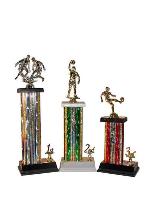 """15""""-19"""" Rectangle Column with Trim Trophy"""