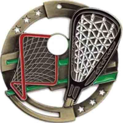 """2-3/4"""" M3XL Lacrosse Medal"""