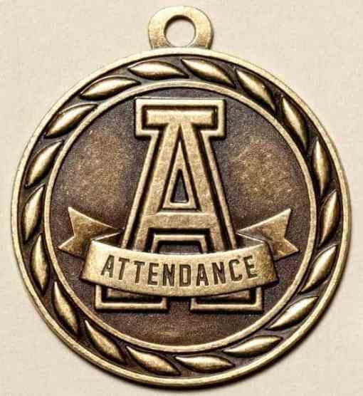 """2"""" Attendance Medal"""