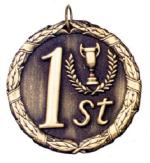 """2"""" First Place Medal"""