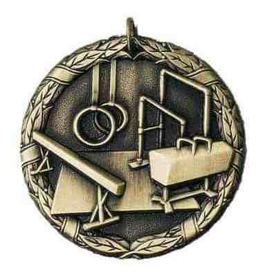 "2"" Gymnastics Medal"