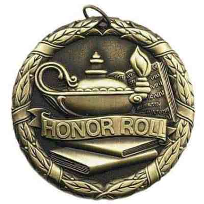"2"" Honor Roll Medal"