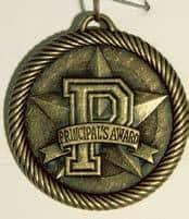 "2"" Principal's Award Medal"