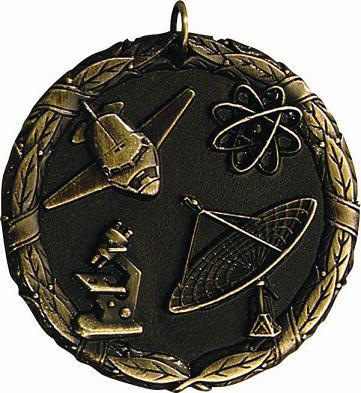 "2"" Science & Technology Medal"