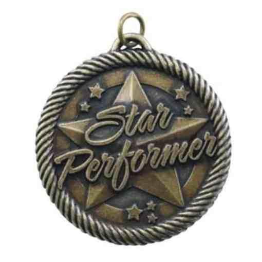 """2"""" Star Performer Medal"""