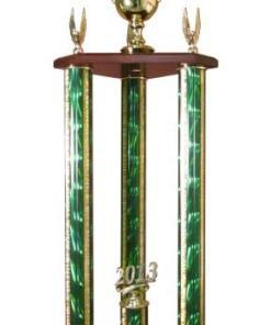 "36"" 3-Post Trophy"