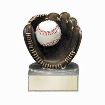"4"" Baseball Glove Trophy"