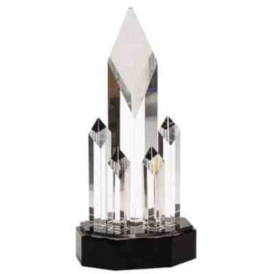 5 Column Diamond Crystal