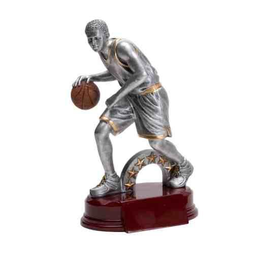 "8"" Male Basketball Trophy"