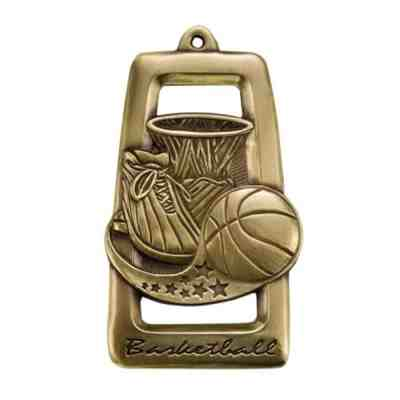 All Star Basketball Medal