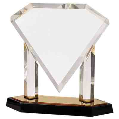 Beveled Diamond Acrylic Award DTP-AG