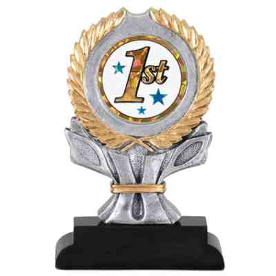 4-Color Mylar Holder Trophy